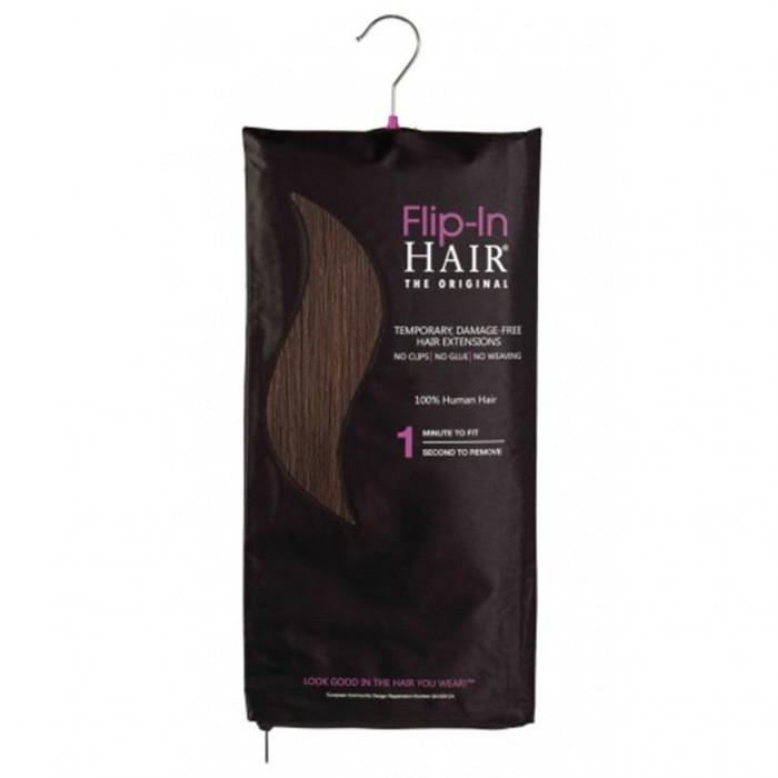 Flip-In Hair color 4 Rich Brown