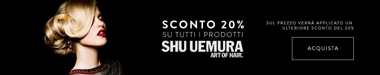 Shu Uemura sconto 20%